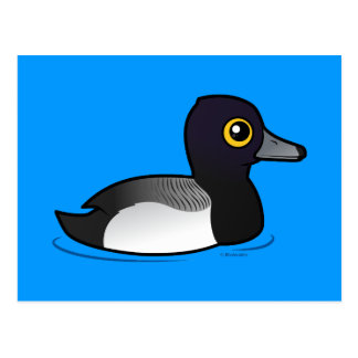 Birdorable Lesser Scaup Postcard