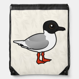 Birdorable Little Gull Drawstring Bag