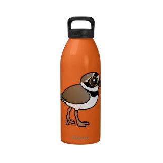 Birdorable Little Ringed Plover Reusable Water Bottle