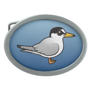 Birdorable Little Tern Oval Belt Buckles