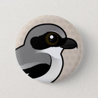 Birdorable Loggerhead Shrike Pinback Button