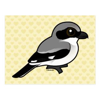 Birdorable Loggerhead Shrike Postcard