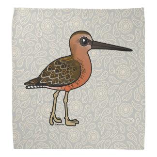 Birdorable Long-billed Dowitcher Bandana