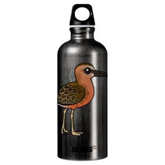 Birdorable Long-billed Dowitcher Water Bottle