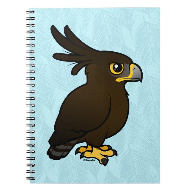 Birdorable Long-crested Eagle Photo Notebook (6.5\