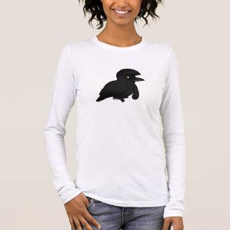 Birdorable Long-wattled Umbrellabird Long Sleeve T-Shirt