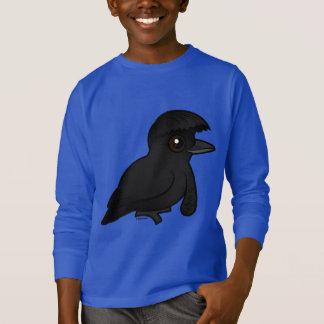 Birdorable Long-wattled Umbrellabird T-Shirt