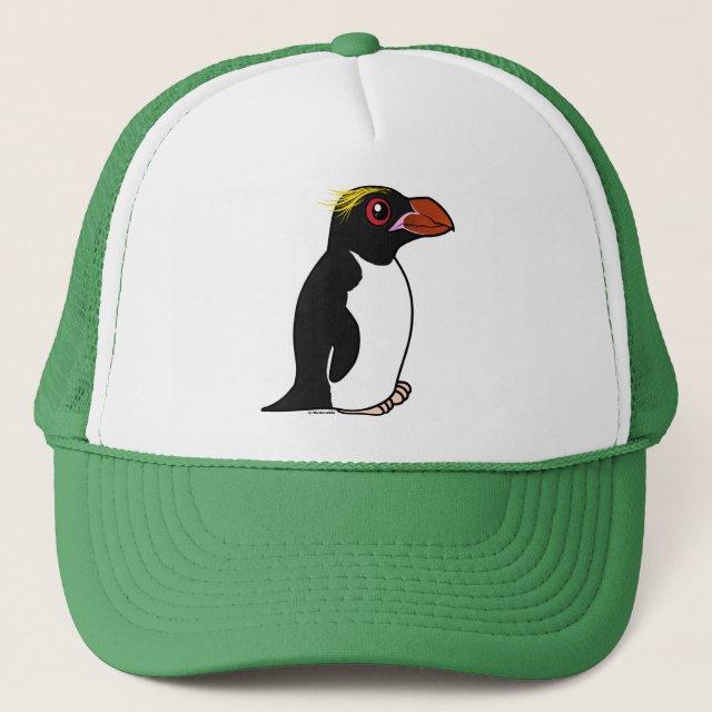 Macaroni Penguin Trucker Hat Cute Bird Gifts