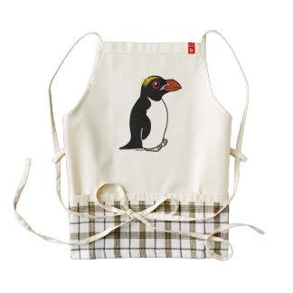 Birdorable Macaroni Penguin Zazzle HEART Apron