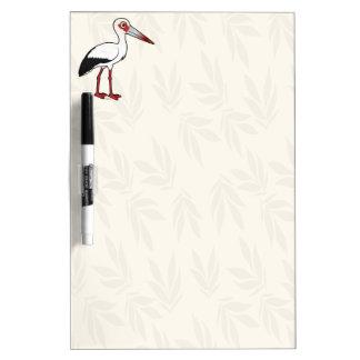 Birdorable Maguari Stork Dry-Erase Board