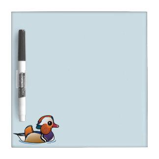 Birdorable Mandarin Duck Dry-Erase Board