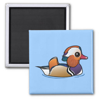 Birdorable Mandarin Duck Magnet