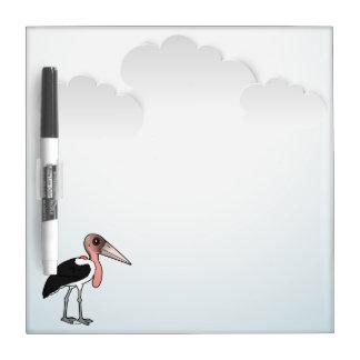 Birdorable Marabou Stork Dry-Erase Board