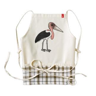 Birdorable Marabou Stork Zazzle HEART Apron
