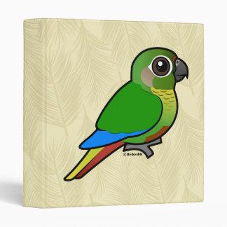 Birdorable Maroon-bellied Parakeet 3 Ring Binder