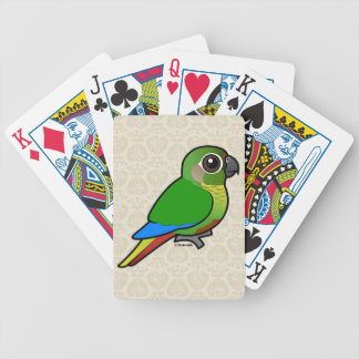 Birdorable Maroon-bellied Parakeet Bicycle Playing Cards