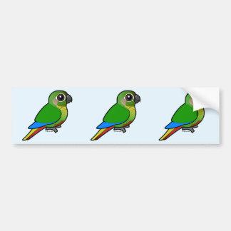 Birdorable Maroon-bellied Parakeet Bumper Sticker
