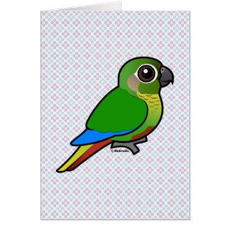 Birdorable Maroon-bellied Parakeet Card