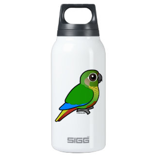 Birdorable Maroon-bellied Parakeet Insulated Water Bottle