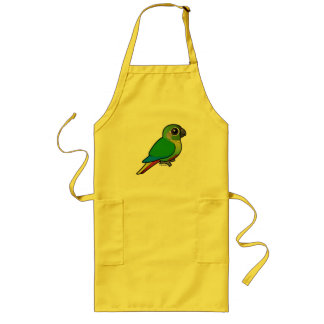 Birdorable Maroon-bellied Parakeet Long Apron