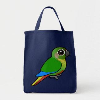 Birdorable Maroon-bellied Parakeet Tote Bag