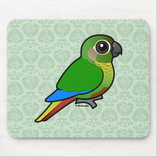 Birdorable Marrón-hinchó el Parakeet Alfombrillas De Ratón