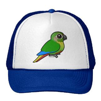 Birdorable Marrón-hinchó el Parakeet Gorros