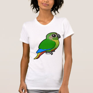Birdorable Marrón-hinchó el Parakeet Poleras