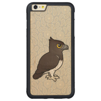 Birdorable Martial Eagle Carved® Maple iPhone 6 Plus Bumper