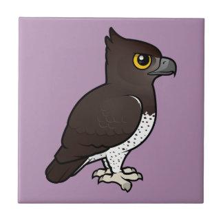 Birdorable Martial Eagle Ceramic Tile