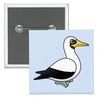 Birdorable Masked Booby Button