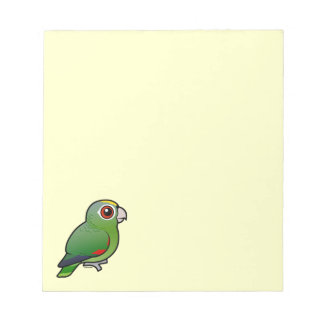 Birdorable Mealy Parrot Notepad