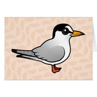 Birdorable menos golondrina de mar tarjeta de felicitación