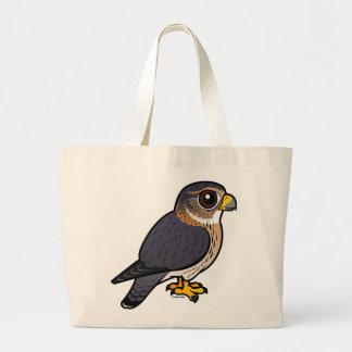 Birdorable Merlin Large Tote Bag
