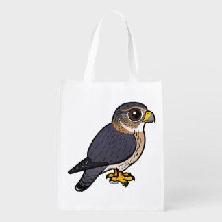 Birdorable Merlin Reusable Grocery Bag