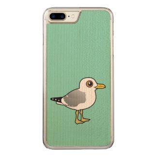 Birdorable Mew Gull Carved iPhone 7 Plus Case