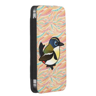 Birdorable Mucho-coloreó al tirano de la Funda Acolchada Para iPhone
