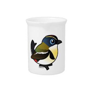 Birdorable Mucho-coloreó al tirano de la Jarras Para Bebida