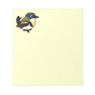 Birdorable Mucho-coloreó al tirano de la Libretas Para Notas