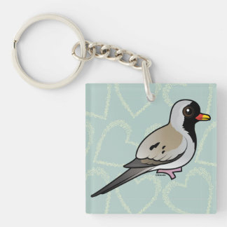 Birdorable Namaqua Dove Keychain