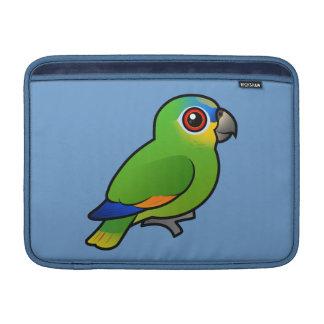 Birdorable Naranja-se fue volando el Amazonas Funda Para Macbook Air