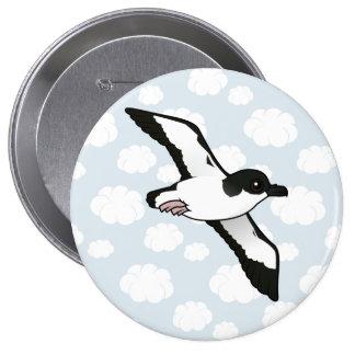 Birdorable Newell's Shearwater flight Pinback Buttons