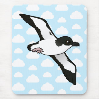 Birdorable Newell's Shearwater flight Mouse Pad
