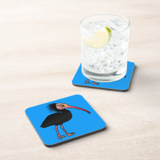 Birdorable Northern Bald Ibis Coaster