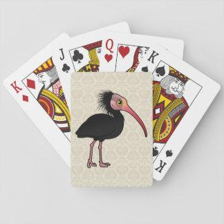Birdorable Northern Bald Ibis Poker Cards
