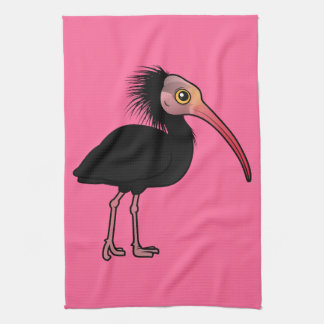Birdorable Northern Bald Ibis Towel