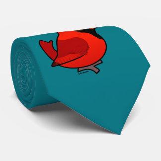 Birdorable Northern Cardinal Neck Tie