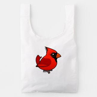 Birdorable Northern Cardinal Reusable Bag