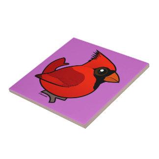 Birdorable Northern Cardinal Tile