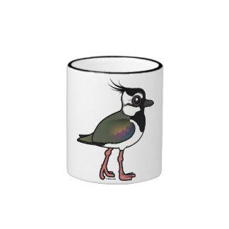 Birdorable Northern Lapwing Ringer Coffee Mug
